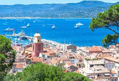 Nestled along the French Riveria and a short drive from Nice or Cannes, St. Tropez is one of the liveliest towns along the coast during the summer.