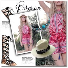 A fashion look from August 2016 by svijetlana featuring Bohemian, polyvoreeditorial and twinkledeals