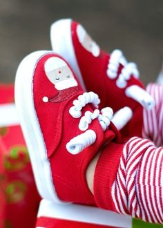 DIY Christmas Shoes..