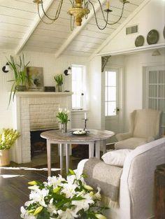 White wash cottage style
