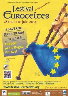 Festival Euroceltes. Du 28 mai au 1er juin 2014 à Strasbourg.