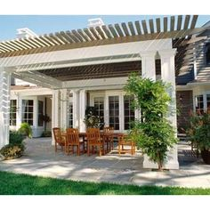 Additional Patio With Pergola Design, Pictures, Remodel, Decor and Ideas - page 2