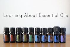 Learning About Essential Oils, specifically which ones she used during pregnancy