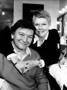 judi dench and husband michael willliams