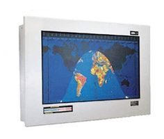 Original Geochron Anodized Aluminum Finish World Time Clock