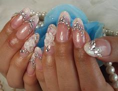 ~ウエディングネイル~ | Lip☆Nail****♪ Art Ideas, Lips, Nail Art, Beauty, Nail Arts, Beauty Illustration, Nail Art Designs