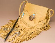 Native American Deer Skin Possible Bag Mission Del Rey