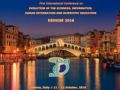 1st International Conference on Evolution of the Sciences, Informatics, Human…