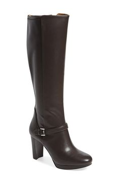 Nine West 'Kacie' Tall Boot (Women) available at #Nordstrom