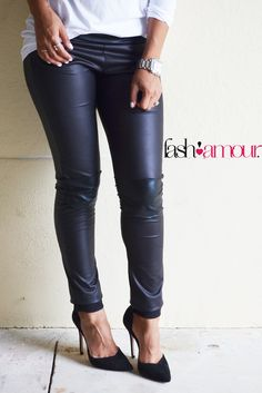These leather pants are hawt!!!!! Yes ma'am!!!