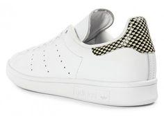 Adidas Stan Smith talon imprimé croco