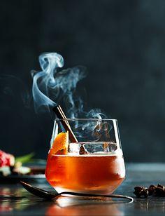 12 Days of Cocktails for Williams-Sonoma |La Santa Old Fashion