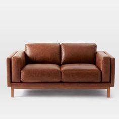 dekalb leather loveseat