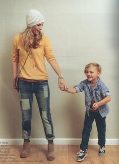 AJ Cook with her son Mekhai Allan Andersen