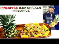HOW TO MAKE PINEAPPLE JERK CHICKEN FRIED RICE 2021 RECIPE   Cooking with Chef ChrisB - YouTube Jerk Chicken, Fried Chicken, Yellow Rice Recipes, Fried Rice, Fries, Pineapple, Cooking Recipes, Youtube, Pine Apple