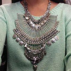 Jewelry - HP China Doll Empress Statement Necklace on Poshmark