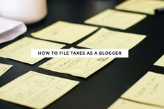 How to File Taxes as a Blogger - Melyssa Griffin