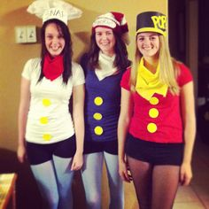 Snap, crackle and pop Halloween costume!