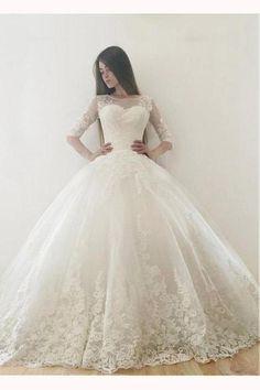 Amiable Light Blue Long Sleeve Muslim A-line Evening Dresses Lace Applique Court Train Tulle Dubai Bridal Reception Dress Be Novel In Design Weddings & Events