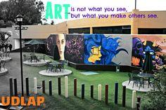 Espejo Nómada #Arte #pintura #UDLAP #Creatividad