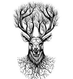 WYUEN Deer Temporary Tattoo Sticker Tree Tattoos for Women Fashion Sexy Body Art Waterproof Hand Fake Tatoo Animals Tattoo, Animal Tattoos For Men, Tattoos For Guys, Tattoo Animal, Diy Tattoo Permanent, Temporary Tattoo, Megaman Tattoo, Body Art Tattoos, Sleeve Tattoos
