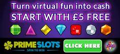 Turn Virtual Fun into Cash - Play Bejeweled slot with £5 Free Play Bejeweled slot game with £5 free no...