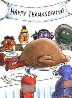 Seasame Street Thanksgiving...