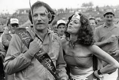In she was sent to wish Dale Earnhardt a happy birthday. The Intimidator, Chase Elliott, Nascar Racing, Auto Racing, Dale Earnhardt Jr, European Football, John Cena, American Muscle Cars, Senior Photos