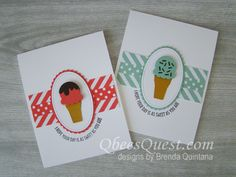 QbeesQuest offers card-making ideas, paper crafting tips and tutorials. Brenda Quintana Independent Stampin' Up! Demonstrator. Order Stampinup on-line