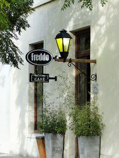 Freddo em Colonia Del Sacramento, no Uruguai.