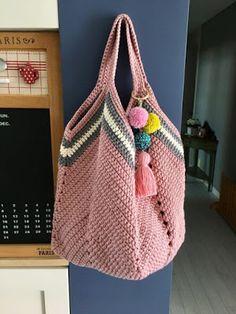 Bolsa en crochet casual (Patrón)