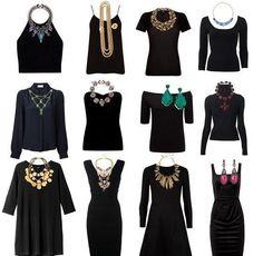 Как подобрать украшения к одежде