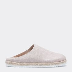 LINEN MULE SLIPPERS WITH JUTE DETAIL - Footwear - Woman - Homewear & shoes | Zara Home United Kingdom