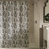 Found it at Wayfair - m.style Ikat Plume Polyester Shower Curtain