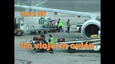 Un viaje en avión. Nivel A2