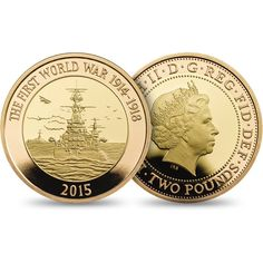 The Royal Mint's programme of commemoration marking the centenary of the First World War continues with a £2 coin that honours the Royal Navy.