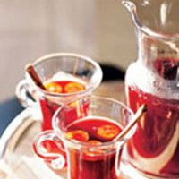 Pomegranate-Apple Cocktails - this versatile drink has several variations — serve it hot or cold, with or without alcohol.