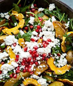 Roasted Squash with Mint and Toasted Pumpkin Seeds | Recipe ...