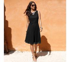 Jednofarebné šaty | blancheporte.sk #blancheporte #blancheporteSK #blancheporte_sk #letnakolekcia Mi Long, Black, Dresses, Fashion, Dress Black, Dress Ideas, Lace, Womens Fashion, Vestidos