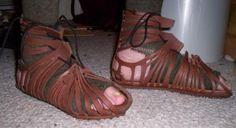 bd6ca70bb9dfc4 Making Authentic Caligae  DIY  Roman  Caligae  footwear