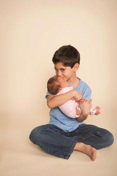 the big bro & the lil sis - newborn and/or sibling picture (photo via MK Photo Studios & tshirts via REVOLUTION46R46 on etsy)...