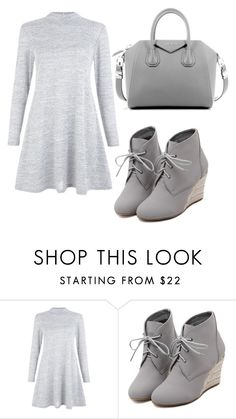 """Untitled #24"" by innaen ❤ liked on Polyvore featuring WithChic, Givenchy, women's clothing, women, female, woman, misses and juniors"