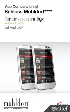 Schloss Mühldorf App: App Company Oberösterreich - die Appagentur aus Linz - bringt Schloss Mühldorf - für die schönsten Tage - auf Android®