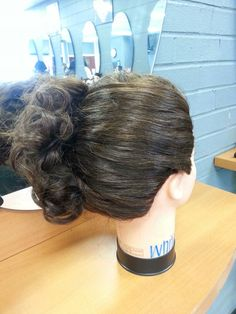Up do #1 side view