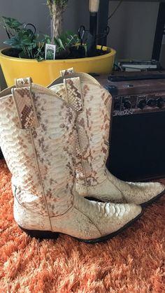 letgo - Genuine Python Boots in Panama City, FL