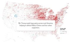 How Trump Reshaped the Election Map Election Map, Us Presidential Elections, Interactive Map, Cartography, Infographics, Maps, Digital, Blog, Infographic