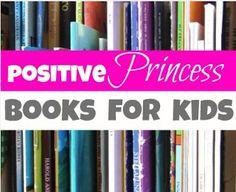 Girly Girl gift guide! Positive princess books!