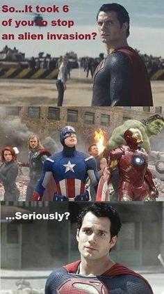 Most Meme'd: Superman (Man of Steel)