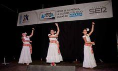 Las Academias de Baile también tuvieron su espacio en Actúa Málaga.