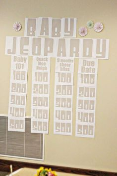Joint Baby Shower Baby Shower Party Ideas | Photo 1 of 90 | Catch My Party